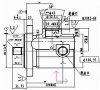 YBZ220R-190/140L,叶片泵 YBZ220R-190/140L,叶片泵