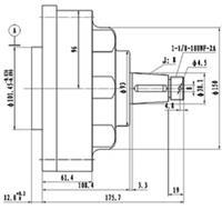 MDB-1,制动器 MDB-1,制动器