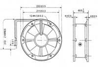 QA20060HBL1-Y,QA20060HBL2-Y,交流风机 QA20060HBL1-Y,QA20060HBL2-Y,交流风机