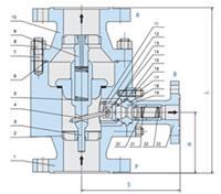 ZDL-PN16-C-25,ZDL-PN25-RL-50,ZDL-PN40-R-40,ZDL-PN64-P-32,自动循环泵保护阀 ZDL-PN16-C-25,ZDL-PN25-RL-50,ZDL-PN40-R-40,ZDL-PN6