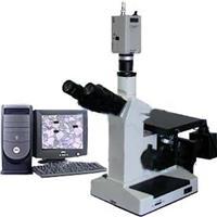 4XCE電腦型三目倒置金相顯微鏡