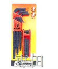 超值型兩組套裝六角匙 14187-12587 14187-10999