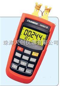 供应美国OMEGA原装进口正品HH801B便携式双通道热电偶温度计 HH801B