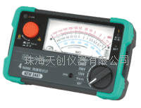 日本原装KEW3431指针式绝缘电阻计 KEW3431