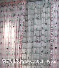 棉布印花儿童系列窗帘