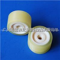聚氨酯包胶 轴承是尼龙 外面胶是聚氨酯 来图订做