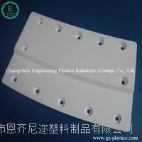 专业订做高性能材料PTFE塑料异型件板块  耐磨损耐酸碱垫板