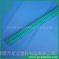 绿色含油尼龙齿条 2000mm长一件