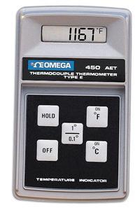 OMEGA 450系列,高精度手持式温度计 450-AKT