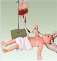 高级婴儿全身静脉穿刺模型   GD/HS9