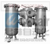 SLQ-32 SLQ-40 SLQ-50 SLQ-65 双筒网式过滤器 (0.6MPa) JB2302-78 SLQ-32 SLQ-40 SLQ-50 SLQ-65