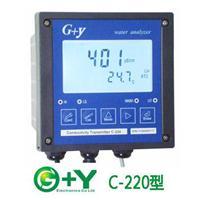 C-220型在线循环水電導率儀、自来水电导率、饮用水电导率测量仪