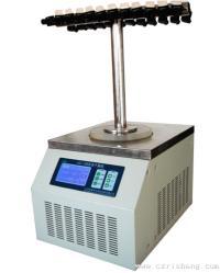 冷冻干燥机 LGJ-10/12台式多歧管T型