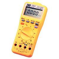 TES2801數位式萬用表TES-2801臺灣泰仕