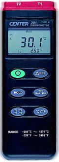 CENTER301分度號 K,J型熱電偶溫度計CENTER-301