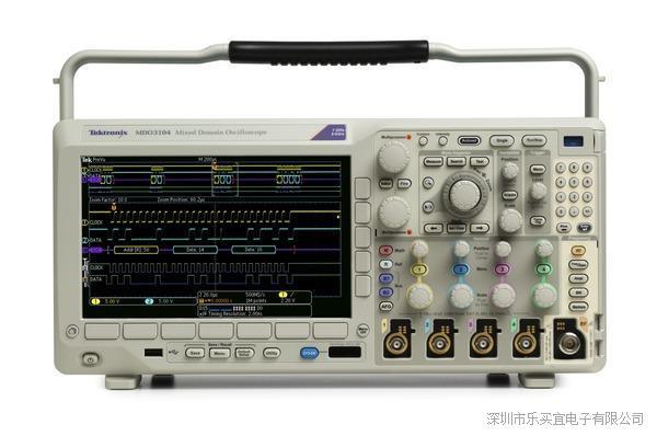 美国泰克MDO3012数字荧光示波器 MDO3000系列