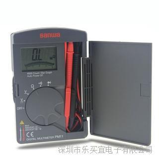 日本三和 Sanwa PM11 袖珍型数字万用表