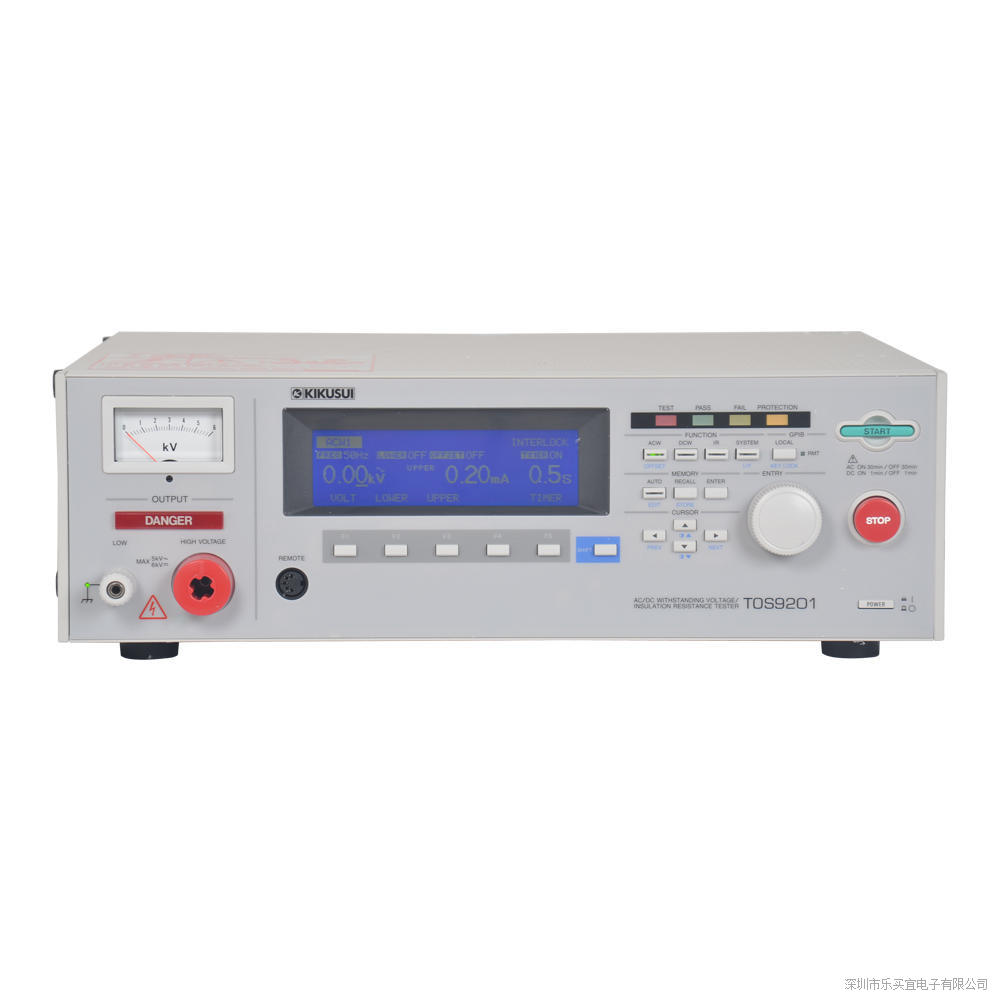日本菊水TOS9200绝缘电阻测试仪