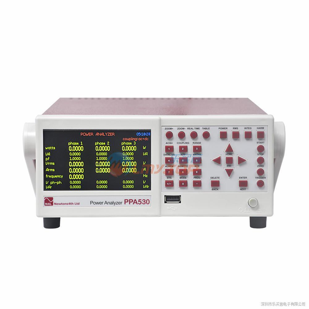 英国牛顿N4L PPA530 功率分析仪 三相功率计