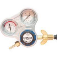 千代田 酸素用調整器スタウト(関西式)乾式安全器内蔵型