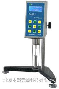 数字式粘度计 型号:ZHSNB-1 ZHSNB-1