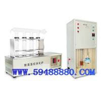 CDKDN-04C   凯氏定氮仪/粗蛋白含量测定仪(单排配四孔消化炉)  型号:CDKDN-04C CDKDN-04C