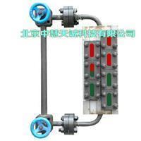 无盲区双色水位计|锅炉云母水位报警计型号:B49H-16-25/2-W B49H-16-25/2-W