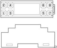 WS1523 WS1524 模入模出隔离端