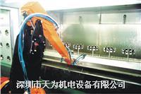 噴涂機器人的代理及周邊設備的制作 TW-0100J