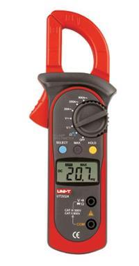 UT202A数字钳形表 钳形电流表 钳表  UT202A