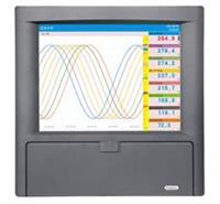 KT800R中长图彩屏无纸记录仪_多路温度记录仪_多路无纸记录仪 KT800R