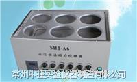 常州中捷SHJ-A6水浴恒温磁力搅拌器 SHJ-A6(HH-6)