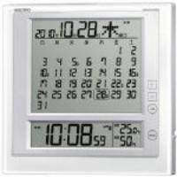 170x170x25mm [電波] 掛・置 兼用時計 EA798CS-15B