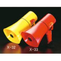 6W [防沫型]メガホン[赤] EA916X-33