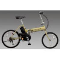 [20インチ]充電式電動自転車(折畳み/イエロー) EA986YA-13Y