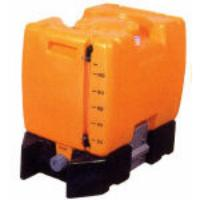 100L [バルブ付]台付ポリエチレン容器 EA991AC-1