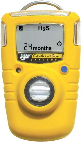 加拿大 MC-1 GasAlertClip Extreme 单一气体检测仪