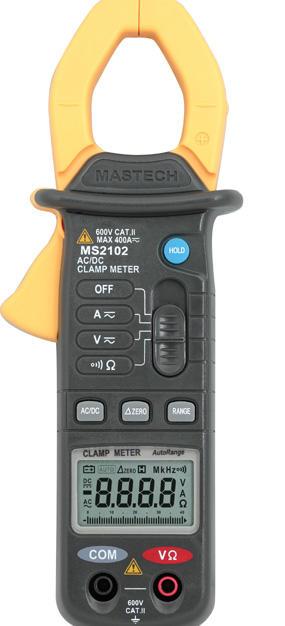 MS2138/MS2138R 交直流钳形表