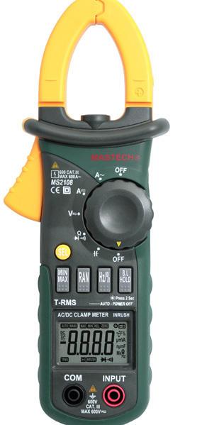 MS2102 MS2101 交直流钳形表