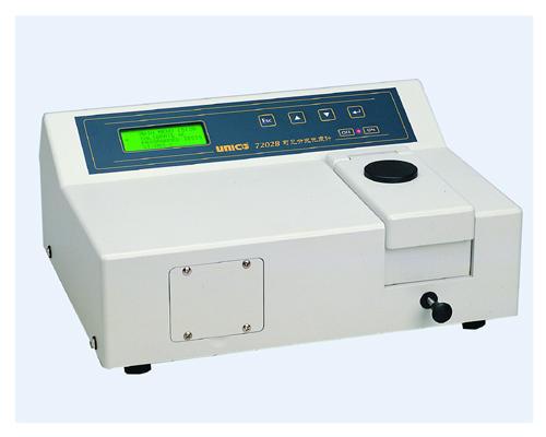 尤尼柯7202B 型便携式可见分光光度