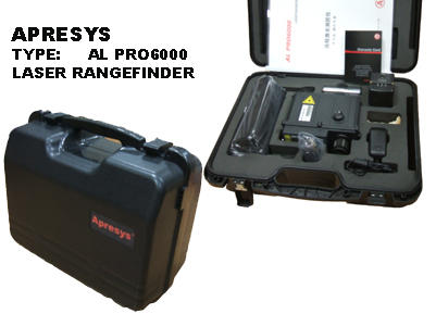 美国APRESYS AL-PRO6000 军用远程激光测距仪