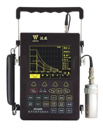 HS600 增强型手持式高亮数字超声波探伤仪