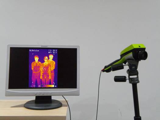 固定式人体测温红外热像仪TI160-P