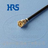 HRS射频连接线U.FL-LPHF6-068N2T-A-70广濑单头原装定制线L-70mm正品供应