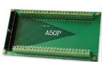 通用排线接线端子板,适用50芯排线的接线方式