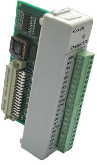 带LED显示的16路隔离数字量I/O模块,