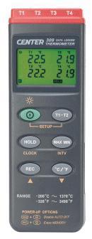 CENTER-304四通道温度计|四通道测温仪 CENTER-304