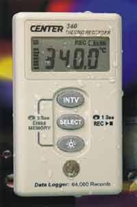 CENTER-340温度记录仪 CENTER-340