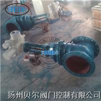 整体型电动铸铁煤气闸阀 MZ941W-1