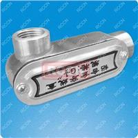 日成 PB-LR-G4 右弯分线盒 铝合金制 PB-LR-G4